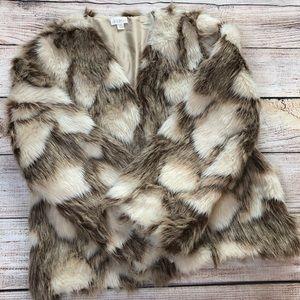 Decree Faux Fur Jacket Coat